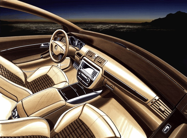 2004 Mercedes-Benz Grand Sports Tourer Vision R concept 348105