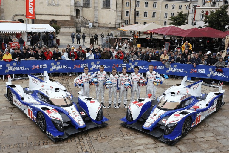 2012 Toyota Racing TS030 Hybrid - Le Mans 24 hours 348770