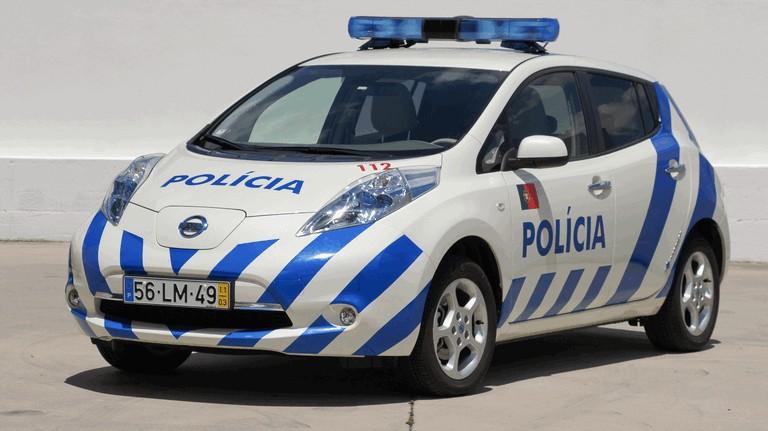 2012 Nissan Leaf - Portuguese Police 352572