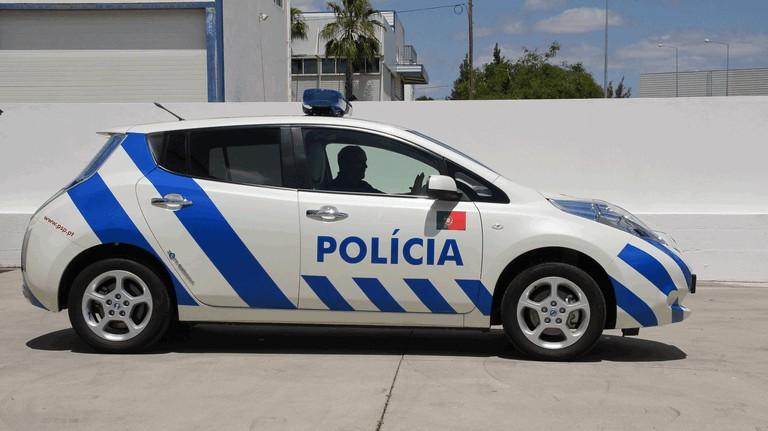 2012 Nissan Leaf - Portuguese Police 352573