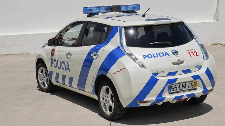 2012 Nissan Leaf - Portuguese Police 352574