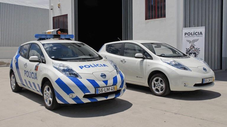 2012 Nissan Leaf - Portuguese Police 352576