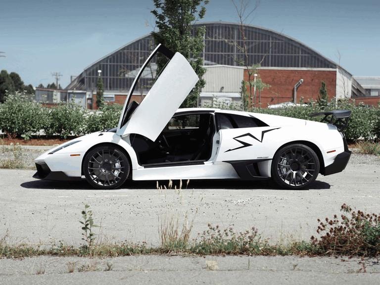 2012 Lamborghini Murcielago Sv White Wing By Sr Auto Group 353480