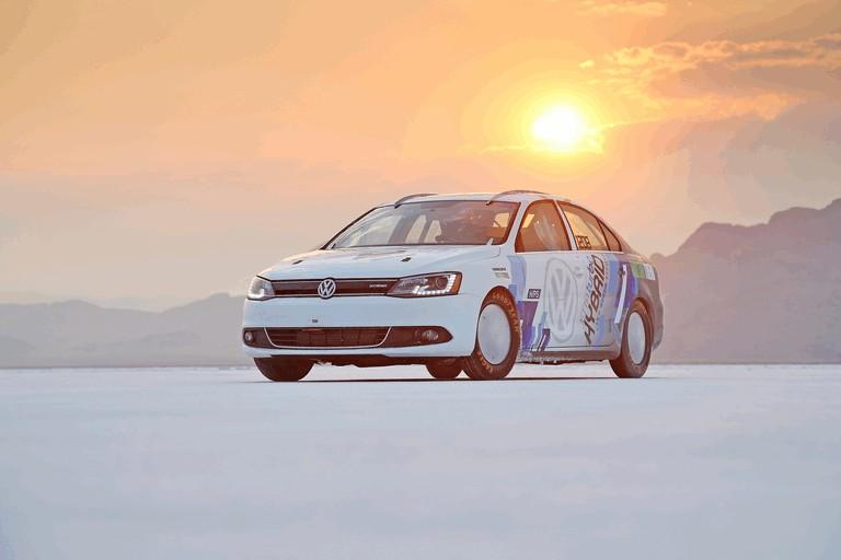 2012 Volkswagen Jetta Hybrid - Bonneville speed record car 355756