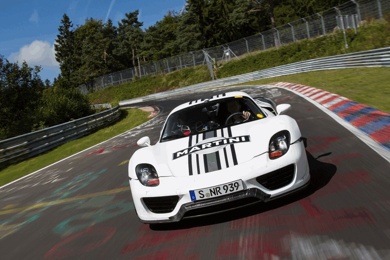 2012 Porsche 918 Spyder prototype - Nuerburgring-Nordschleife test 358469