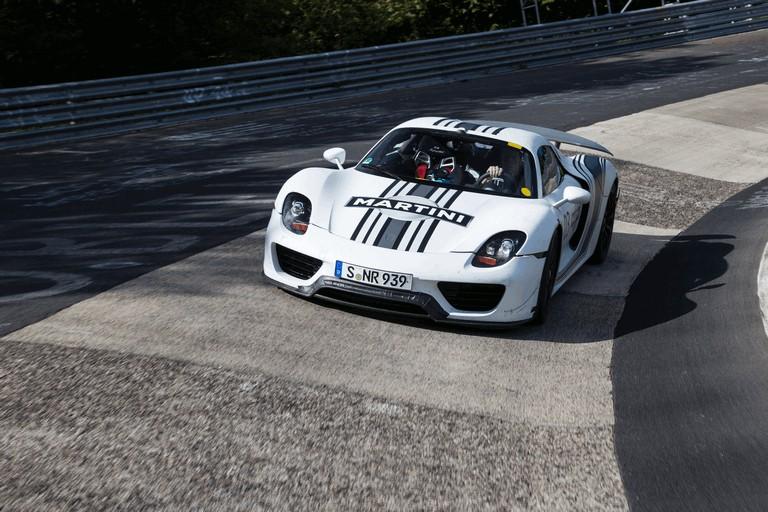 2012 Porsche 918 Spyder prototype - Nuerburgring-Nordschleife test 358470