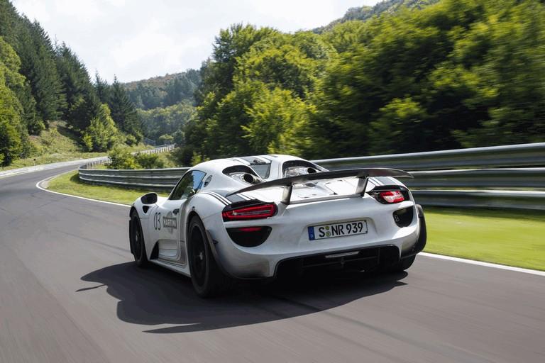 2012 Porsche 918 Spyder prototype - Nuerburgring-Nordschleife test 358471