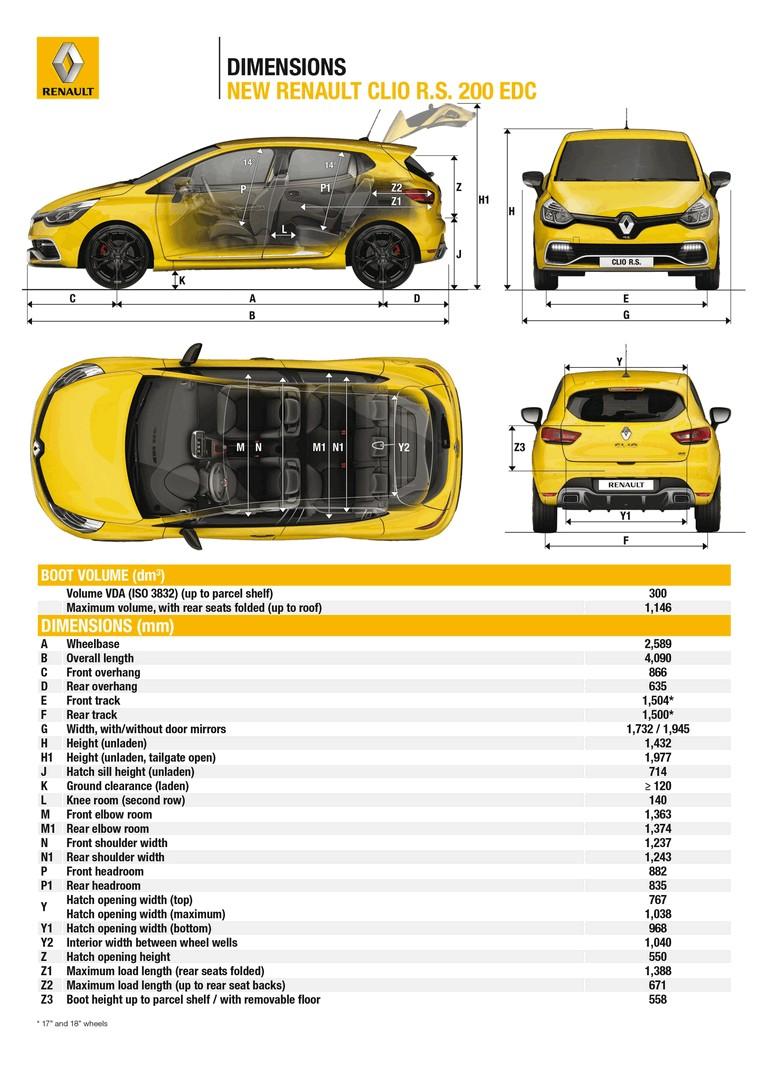 2012 Renault Clio RS 200 EDC 378983
