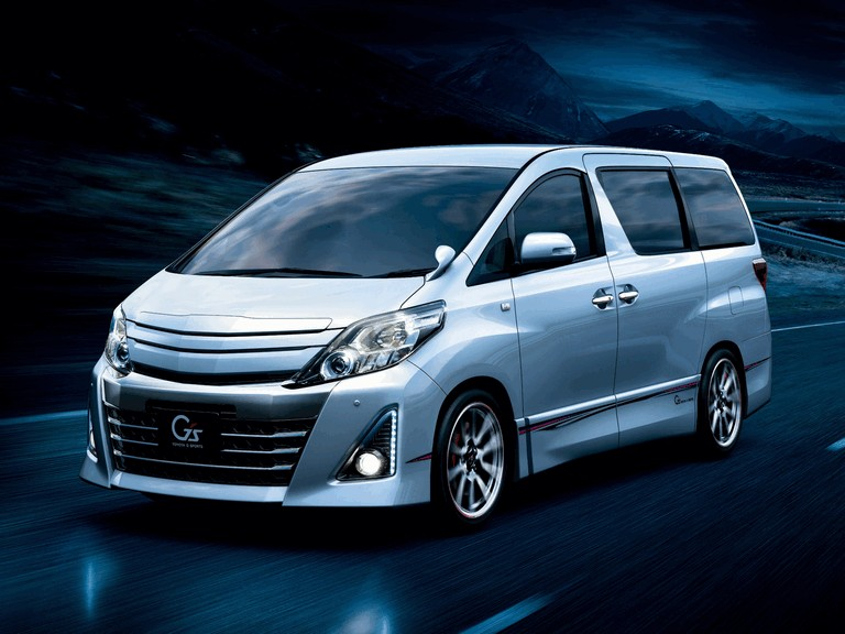 2012 Toyota Alphard 240S Gs ( ANH20W ) 360272