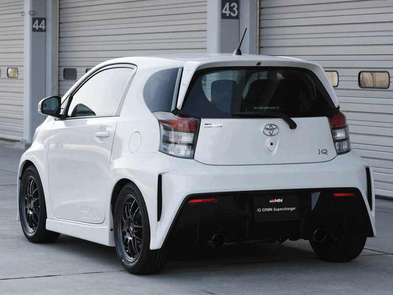 2012 Toyota iQ Supercharger by GRMN 360401