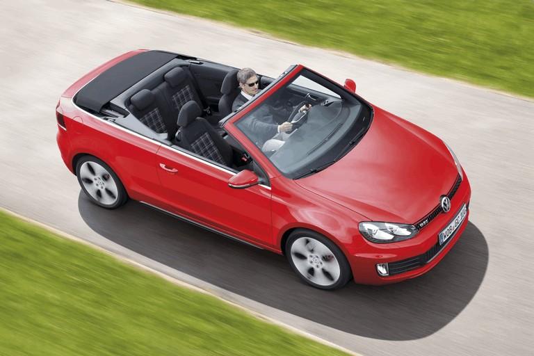 2012 Volkswagen Golf ( VI ) cabriolet 362400