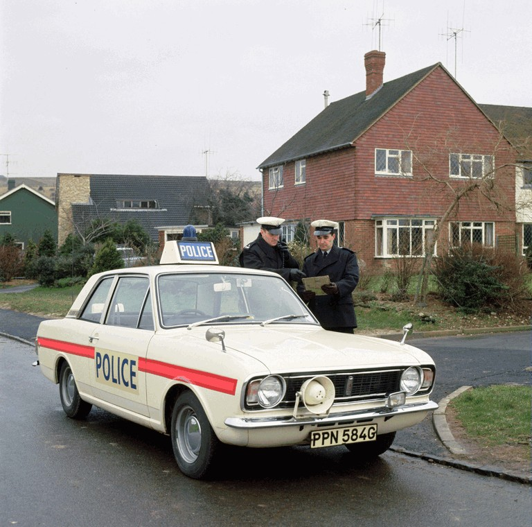 1969 Ford Cortina mkII by Lotus - Police car 363314