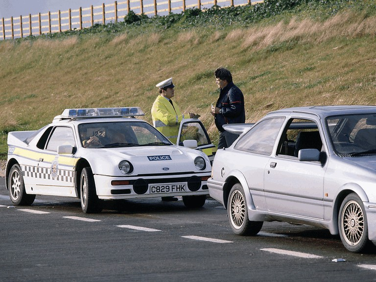 1987 Ford RS200 - Police car 363317