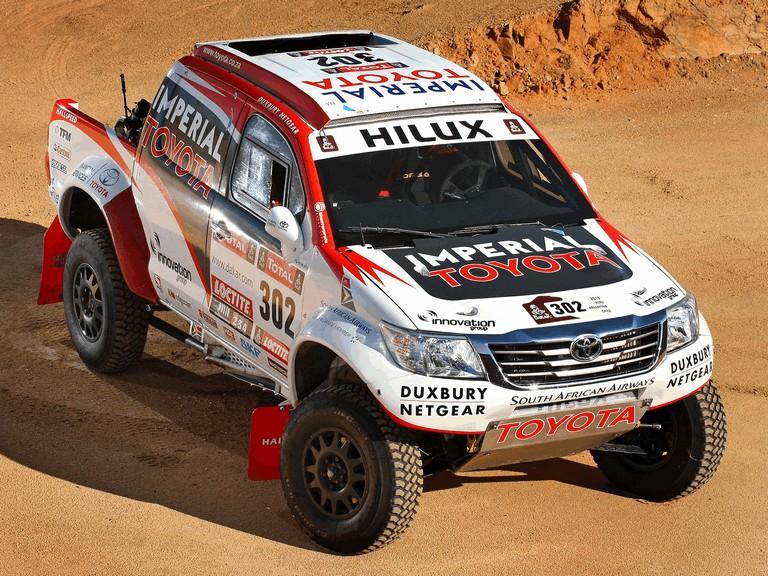 2012 Toyota Hilux rally car 363378