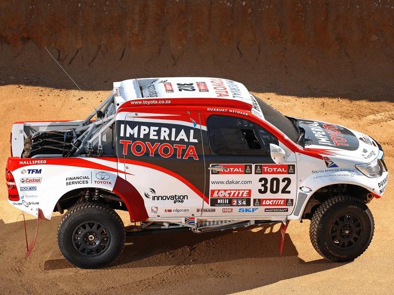 2012 Toyota Hilux rally car 363380