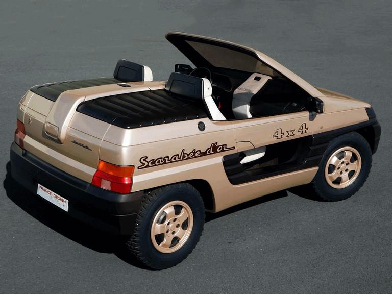1990 Citroën Scarabée d or by Heuliez 510181