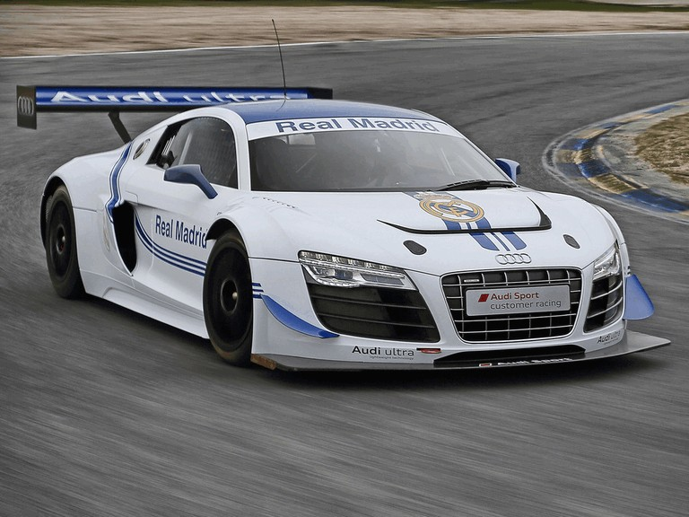 2012 Audi R8 LMS ultra GT3 - Real Madrid edition 365800