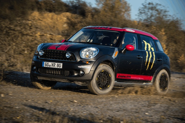 2012 Mini Countryman X-raid service vehicle 366582