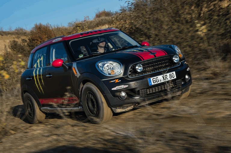 2012 Mini Countryman X-raid service vehicle 366587