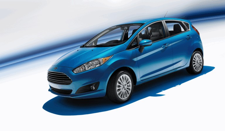 2014 Ford Fiesta 5-door - USA version 366730