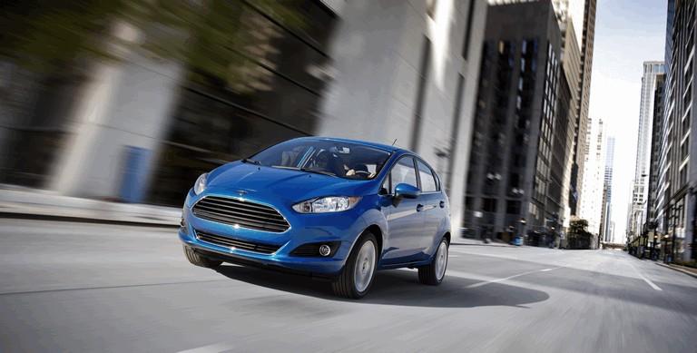2014 Ford Fiesta 5-door - USA version 366733