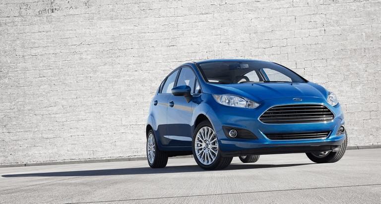 2014 Ford Fiesta 5-door - USA version 366739