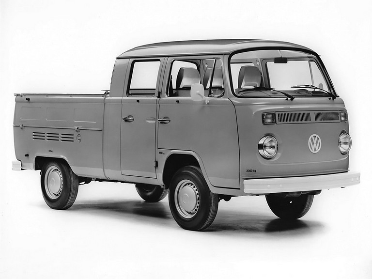 1968 Volkswagen T2 Double Cab Pickup 366986