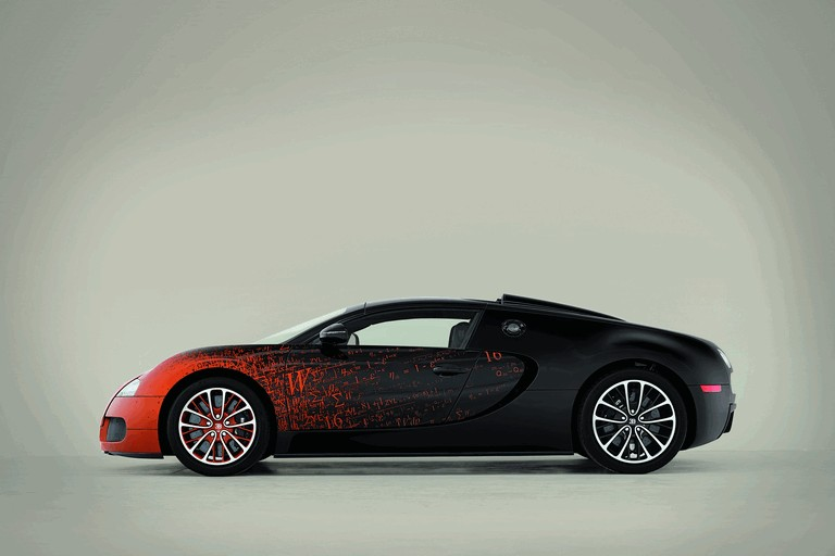 2012 Bugatti Veyron 16.4 Grand Sport by Bernar Venet 367141