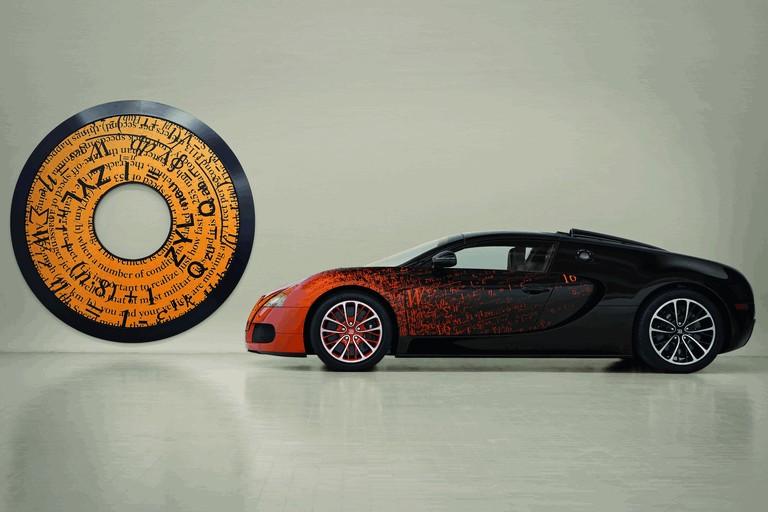 2012 Bugatti Veyron 16.4 Grand Sport by Bernar Venet 367144