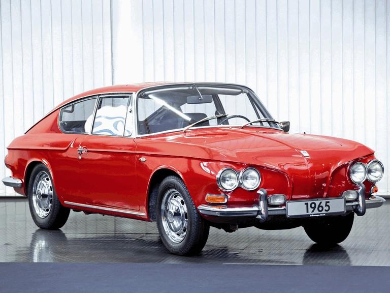1965 Volkswagen 1600 TL prototype by Karmann 370025