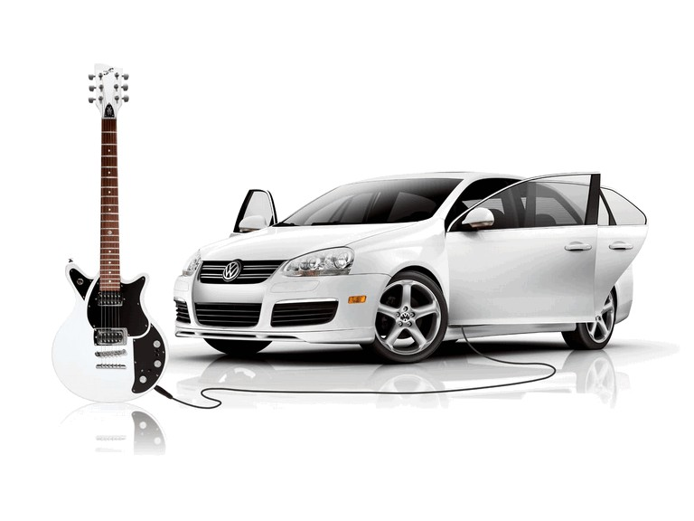 2006 Volkswagen Jetta with First Act Guitar 216056
