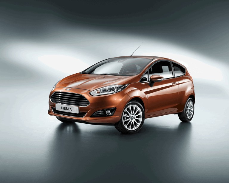 2013 Ford Fiesta 3-door - EU version 370328