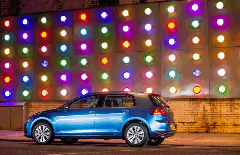 2012 Volkswagen Golf ( VII ) TDI BlueMotion - UK version 370961