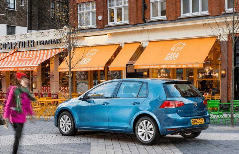 2012 Volkswagen Golf ( VII ) TDI BlueMotion - UK version 370966