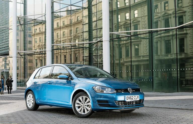 2012 Volkswagen Golf ( VII ) TDI BlueMotion - UK version 370969