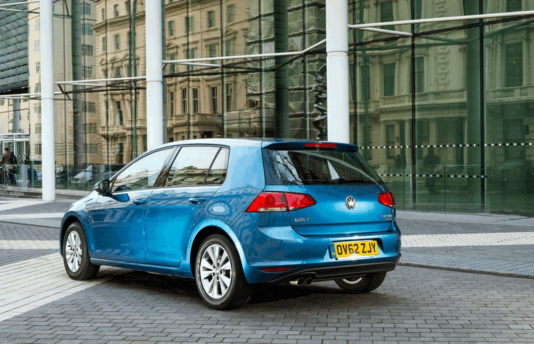 2012 Volkswagen Golf ( VII ) TDI BlueMotion - UK version 370970