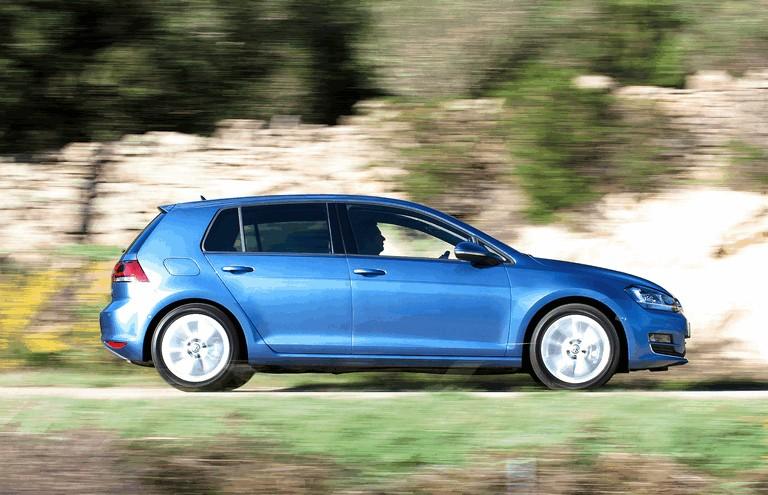 2012 Volkswagen Golf ( VII ) TDI BlueMotion - UK version 370982