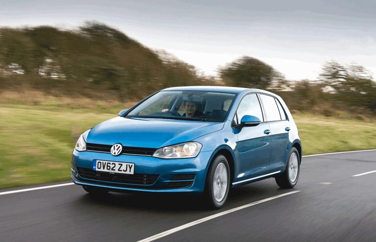 2012 Volkswagen Golf ( VII ) TDI BlueMotion - UK version 370985