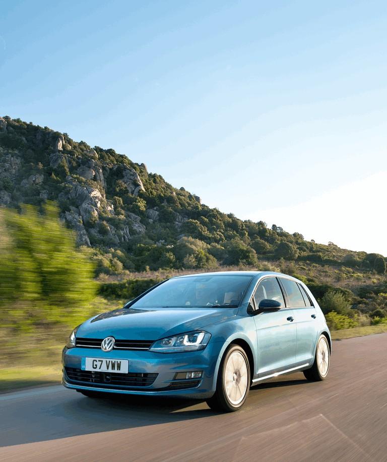 2012 Volkswagen Golf ( VII ) TDI BlueMotion - UK version 370986