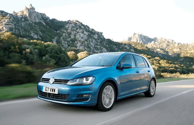 2012 Volkswagen Golf ( VII ) TDI BlueMotion - UK version 370987