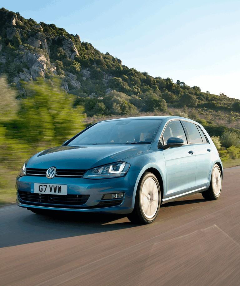 2012 Volkswagen Golf ( VII ) TDI BlueMotion - UK version 370988