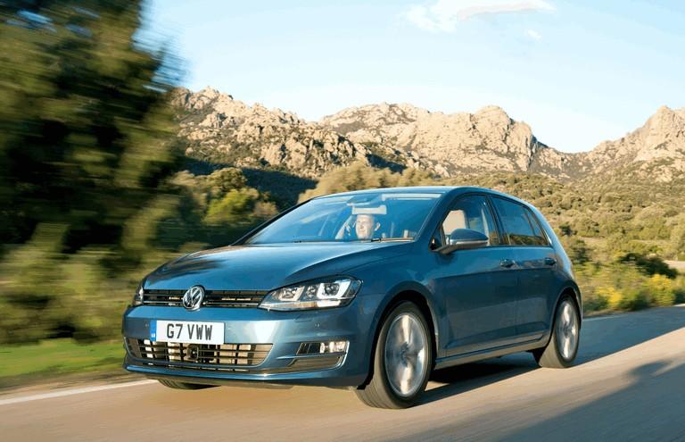 2012 Volkswagen Golf ( VII ) TDI BlueMotion - UK version 370989