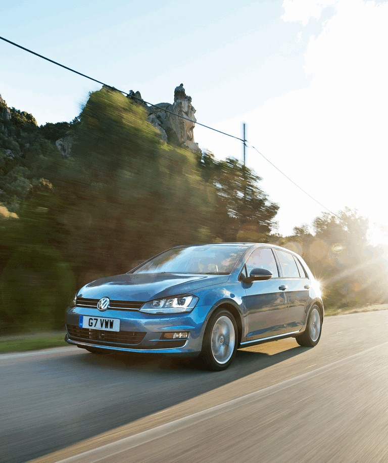 2012 Volkswagen Golf ( VII ) TDI BlueMotion - UK version 370990