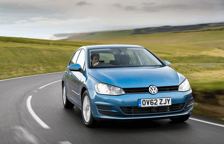 2012 Volkswagen Golf ( VII ) TDI BlueMotion - UK version 370991