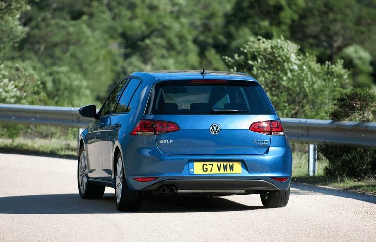 2012 Volkswagen Golf ( VII ) TDI BlueMotion - UK version 370994