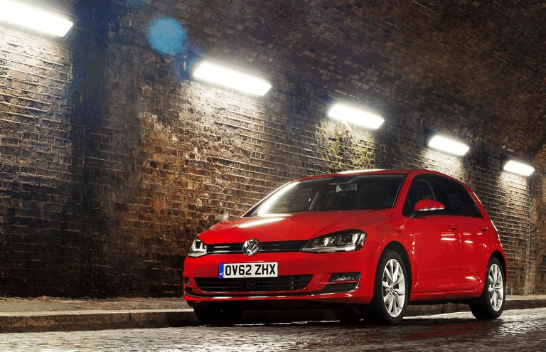 2012 Volkswagen Golf ( VII ) TDI BlueMotion - UK version 370995