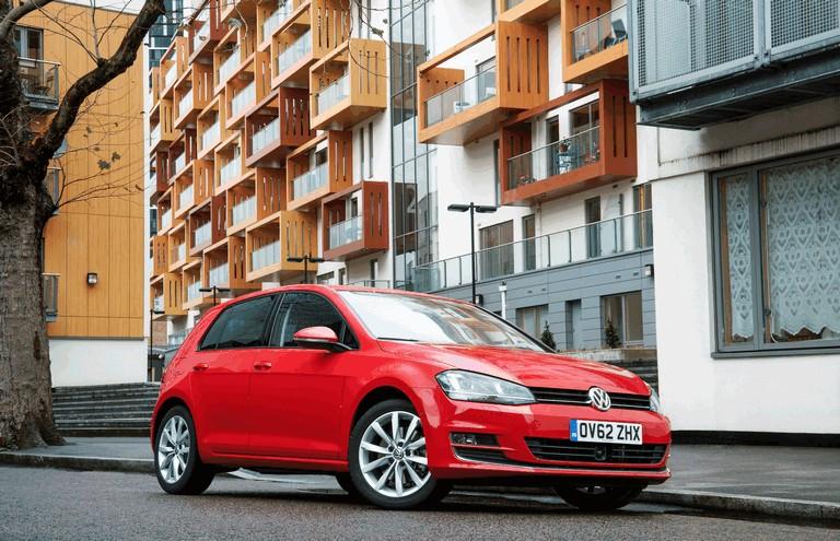 2012 Volkswagen Golf ( VII ) TDI BlueMotion - UK version 370997