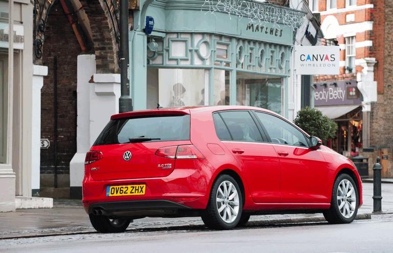 2012 Volkswagen Golf ( VII ) TDI BlueMotion - UK version 370999