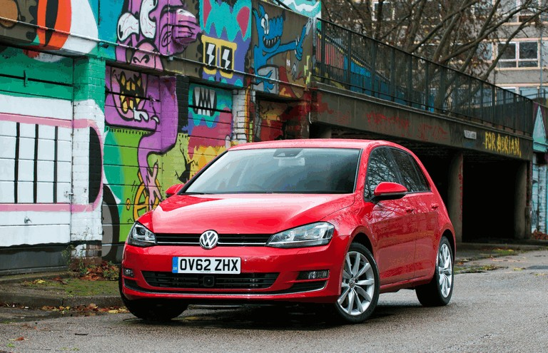 2012 Volkswagen Golf ( VII ) TDI BlueMotion - UK version 371005