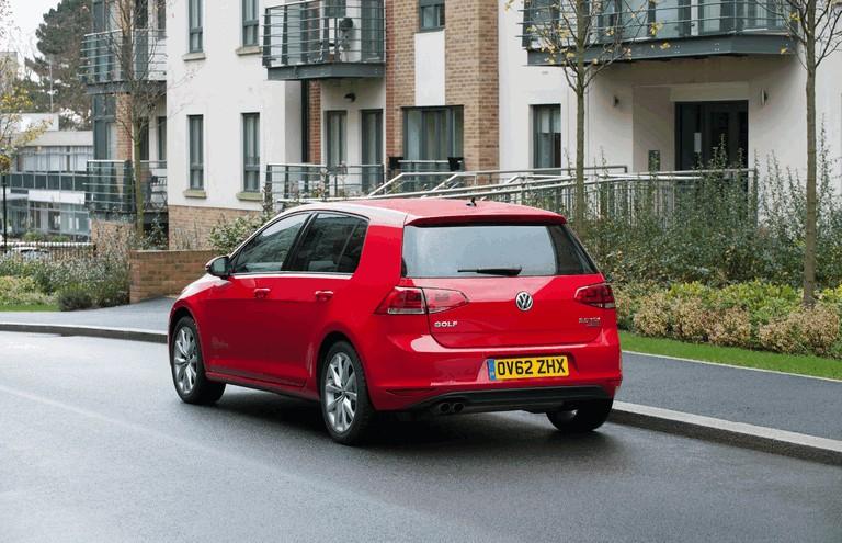2012 Volkswagen Golf ( VII ) TDI BlueMotion - UK version 371011